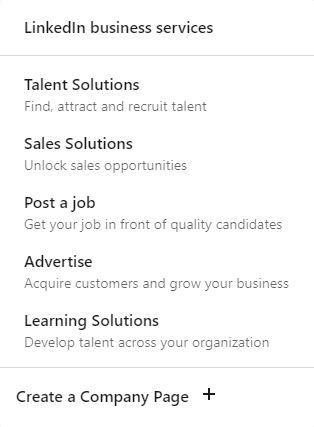 LinkedIn Yritystilin luominen